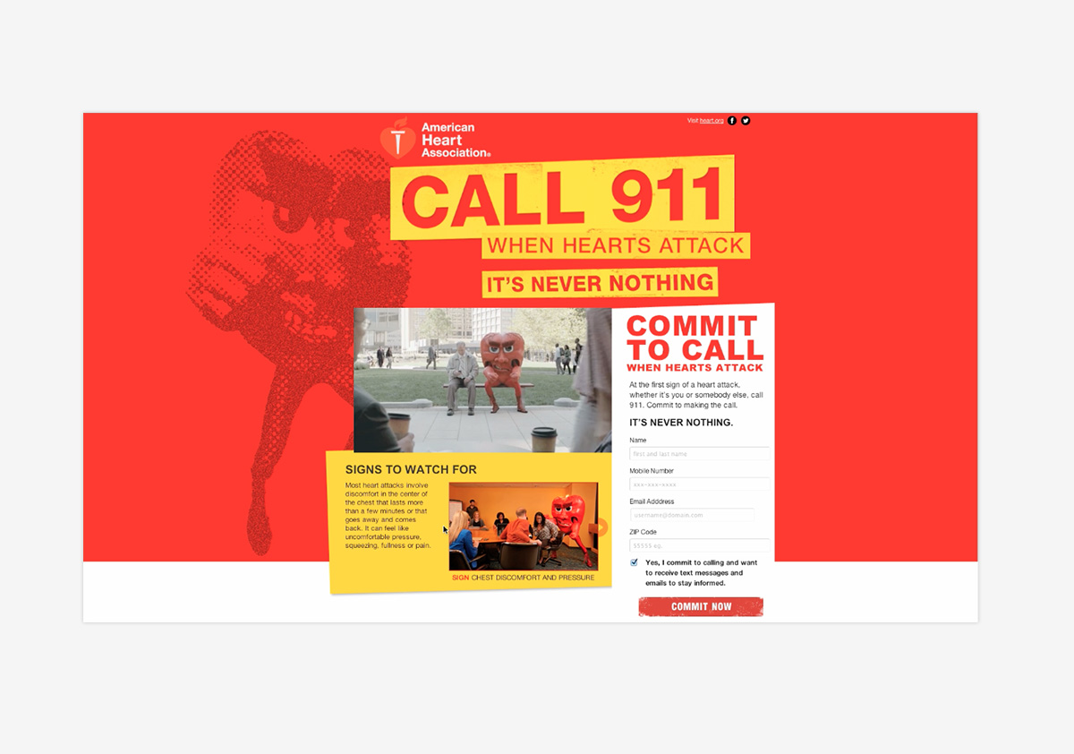 American Heart Association WhenHeartsAttack.com
