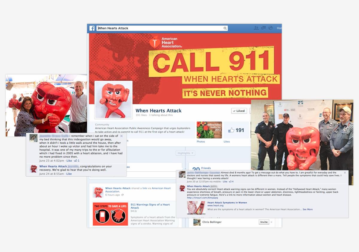 American Heart Association When Hearts Attack Facebook