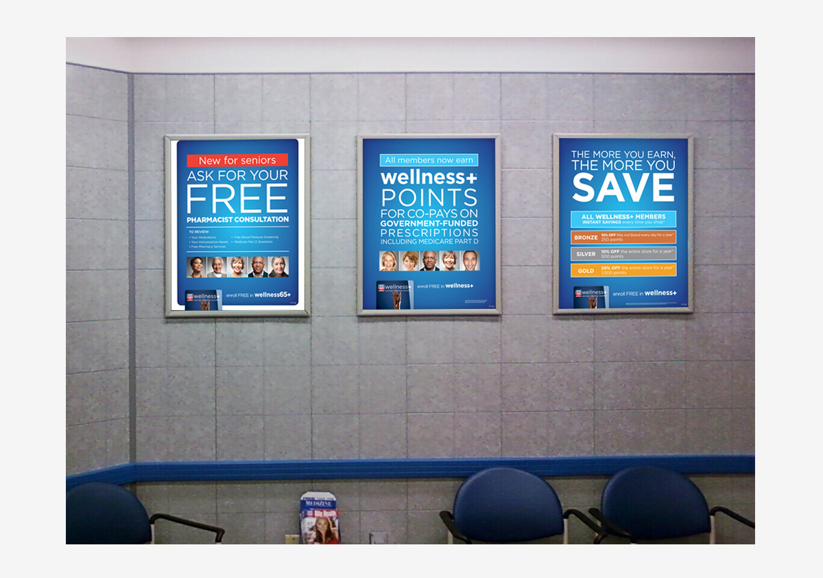 Rite Aid wellness+ Posters