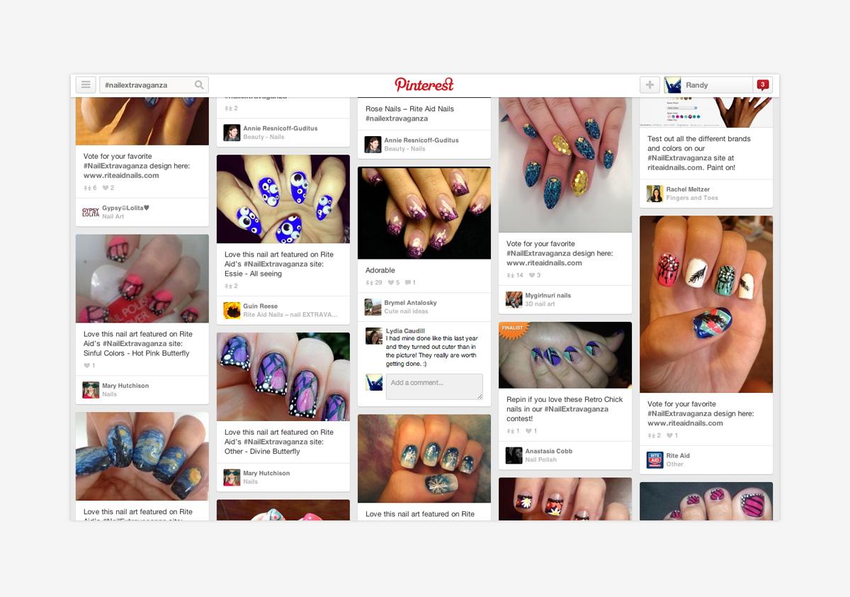 Rite Aid Nails Extravaganza Pinterest