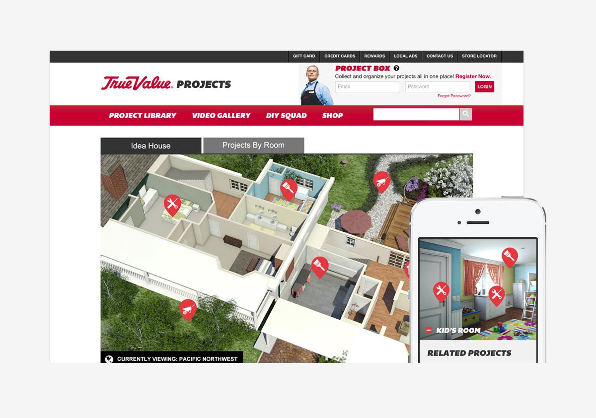 TrueValueProjects.com Idea House