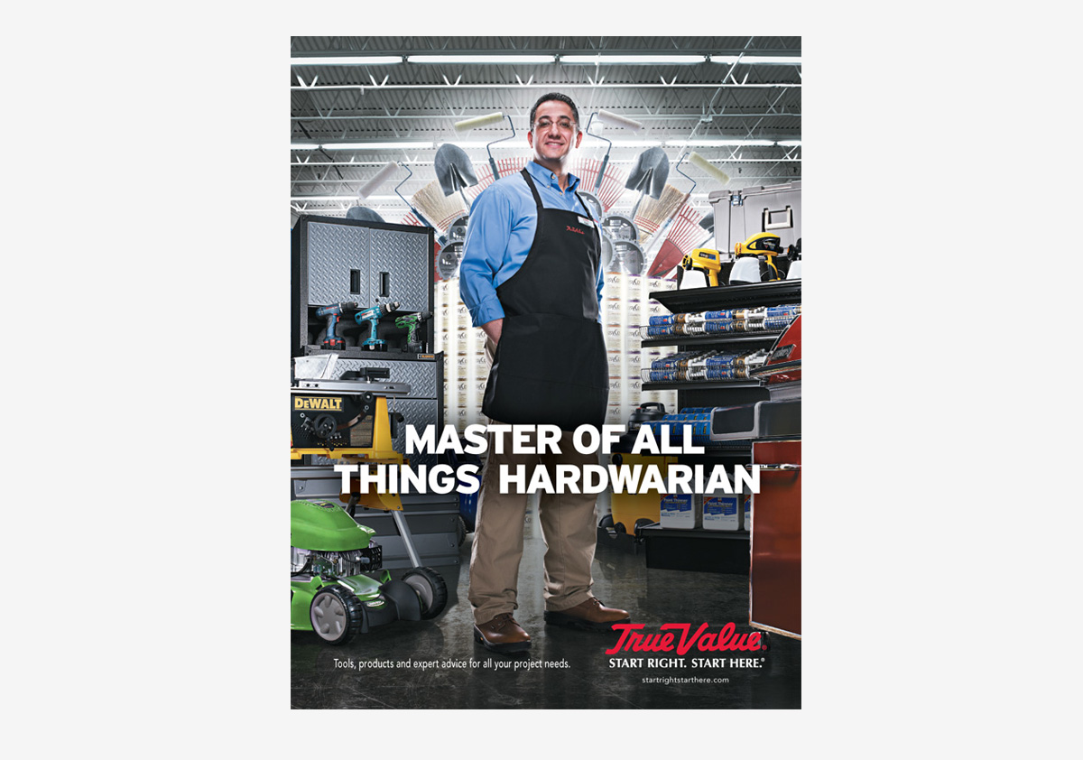 True Value Master of all Things Hardwarian